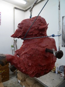 wax 1/4 scale Buffalo